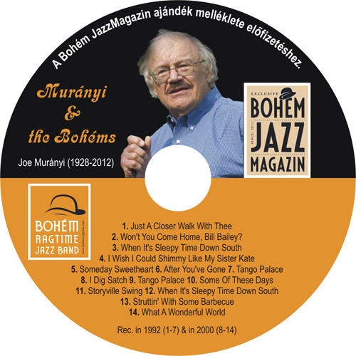 Joe Muranyi & Bohém Ragtime JB CD